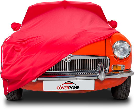 Kalahari Indoor Car Cover - Part covered MG
