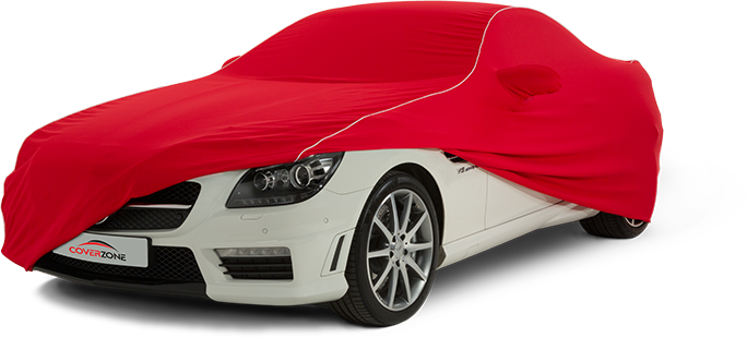 Kalahari Indoor Car Cover on Mercedes