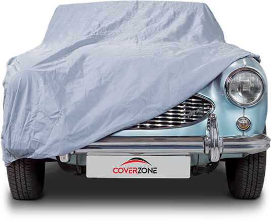 Monsoon waterproof car cover - Part covered Austin Healey