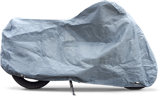 Stormforce Motorcycle cover, side view