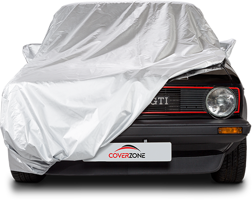 Voyager water resistant car cover - Part covered Golf GTI